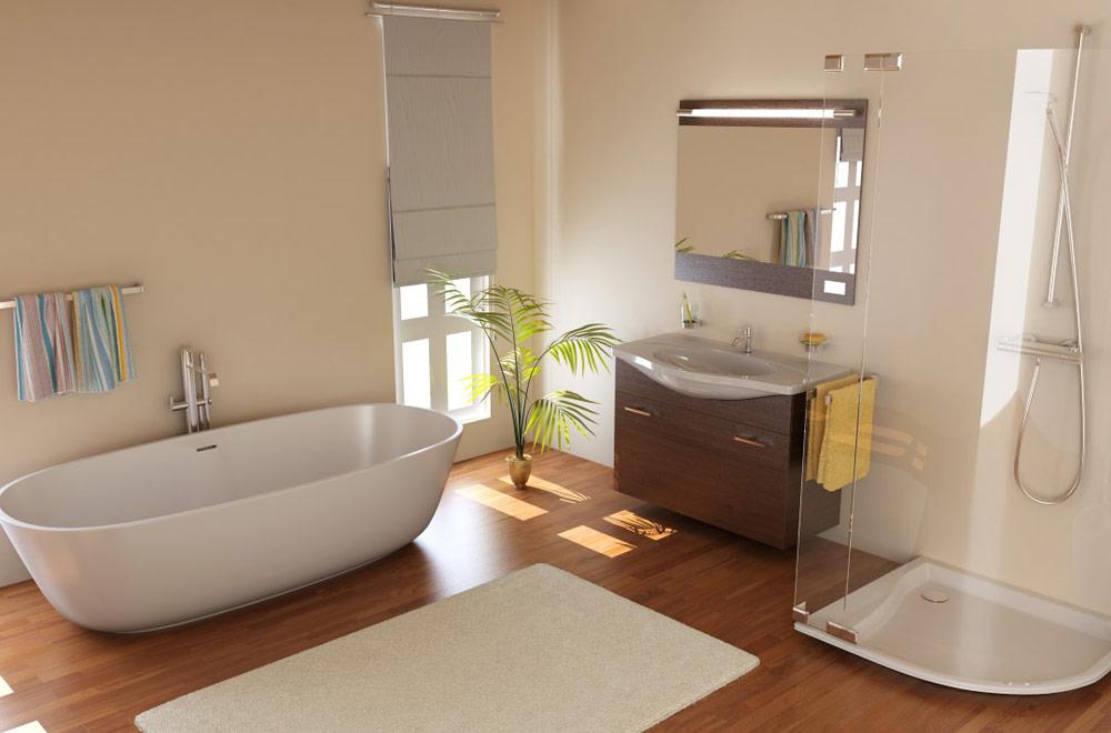 Beispiel Badezimmer Design